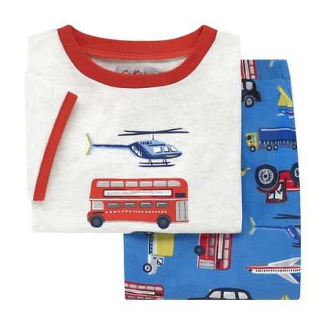 KIDS PJ SET WHEELS WINGS