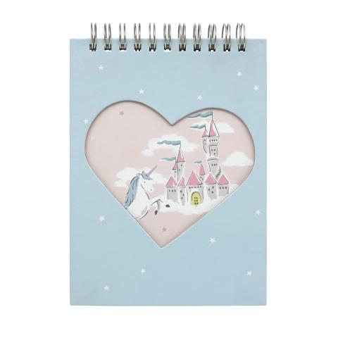 NOVELTY NOTEPAD UNICORNS DITSY