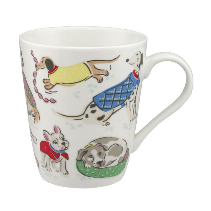 STANLEY MUG DOGS OFF WHITE
