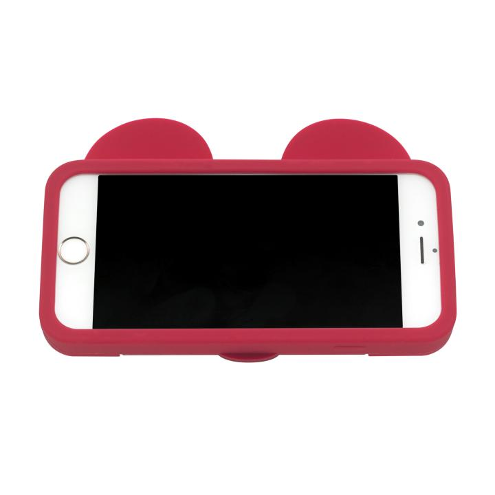 Disney Iphone 7 Rubber Phone Case Mickey & Friends Placement Bright Red