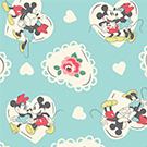 Minnie & Mickey Spot Aqua