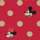 Minnie & Mickey Spot Red