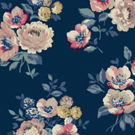 Windflower Bunch Navy