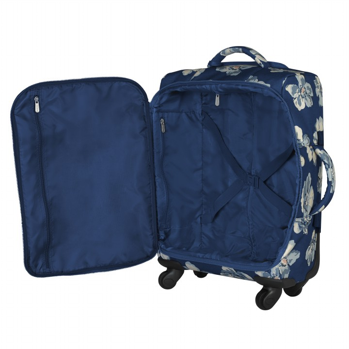FOUR WHEEL CABIN BAG SCATTERED ANEMONE NAVY