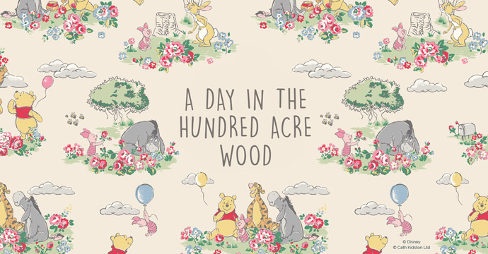 A DAY IN THE HUNDRED ACRE WOOD